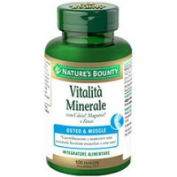 Nature's Bounty Vitalità Minerale 100 tavolette