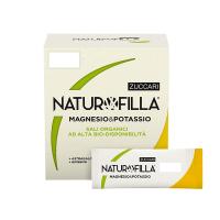 Naturofilla Magnesio e Potassio Menta Lemon 14 Stick Pack
