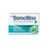 NeoBorocillina Antisettico Orofaringeo Mentolo Eucalipto 16 pastiglie