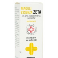 Niaouli Essenza 2% Gocce Nasali 20ml