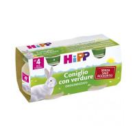 Hipp Biologico Omogeneizzato al Coniglio 2x80gr.