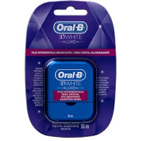 Oral B 3D White Luxe Filo Interdentale 35mt