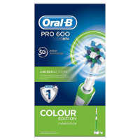 Oral B Pro 600 CrossAction Green Edition
