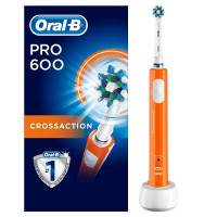 Oral B Pro 600 CrossAction Orange Edition