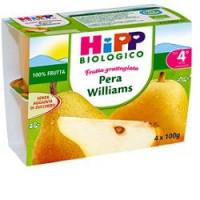 Hipp Biologico Merenda Frutta Grattugiata Pera Williams 4x100gr.