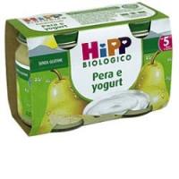 Hipp Biologico Omogeneizzato Pera e Yogurt 2x125gr.
