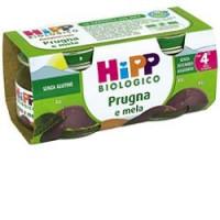 Hipp Biologico Omogenizzato Prugna e Mela 2x80gr.