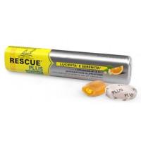 Rescue Plus Integratore Vitaminico Arancia e Sambuco 10 caramelle