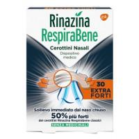 Rinazina Respirabene 30 cerottini nasali Extra Forti