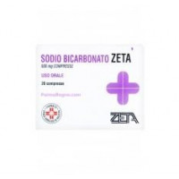 Sodio Bicarbonato Zeta 20 compresse 500mg