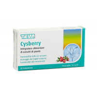 Teva Cysberry 20 compresse
