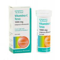 Vitamina C Teva 10 Compresse Effervescenti 1 G
