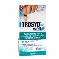 Trosyd Wortie Trattamento Verruche Soluzione + Cerotti