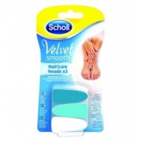 Scholl Velvet Smooth Nail Care Limette per Unghie