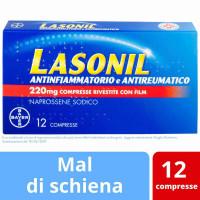Lasonil Antinfiammatorio e Antireumatico 12 Compresse Rivestite 220 Mg