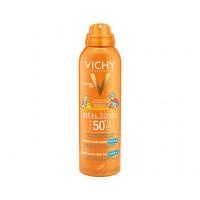 Vichy Ideal Soleil Spray Anti Sabbia per Bambini SPF50+ 200ml