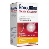 Neoborocillina Gola Dolore Limone e Miele Spray Mucosa 15ml