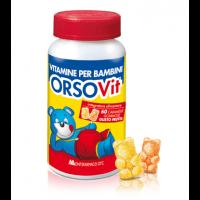 OrsoVit Vitamine Per Bambini 60 Caramelle Gommose