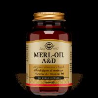Solgar Merl-Oil A & D 100 perle softgels